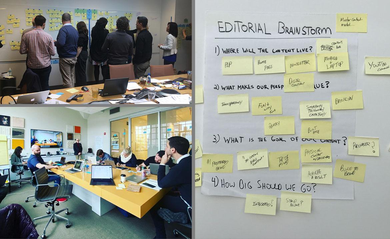 editorial planning workshops