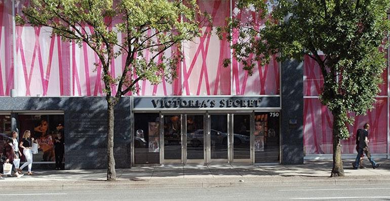 Exterior of Victoria's Secret