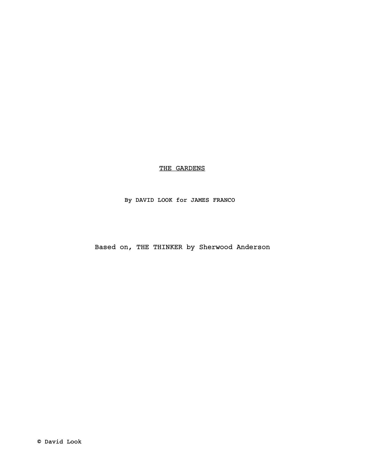 TitlePage-DavidLook-TheGardens